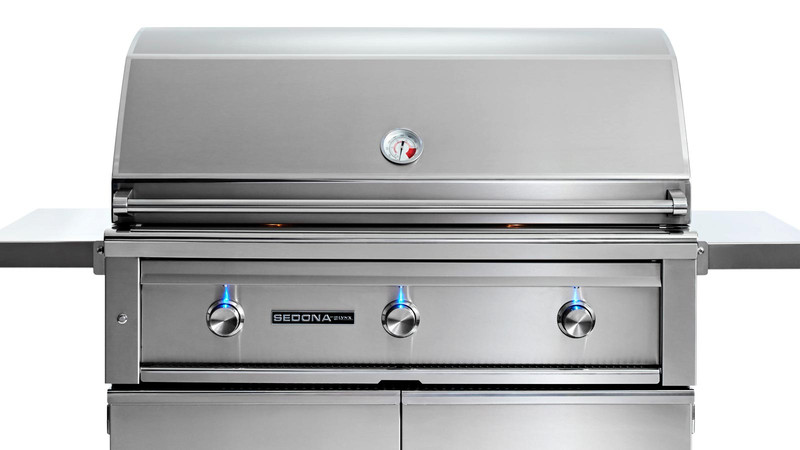 42 Sedona Freestanding Grill With 1 Prosear Infrared Burner And 2 Stainless Steel Burners L700psf